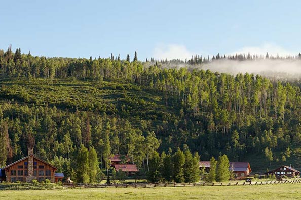 Luxury Guest Ranch in Steamboat Springs