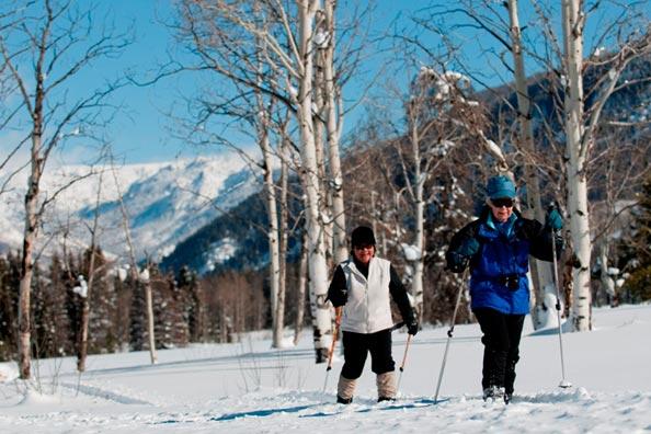 winter resort vacation in Colorado